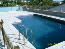 Casa con piscina ideal familias